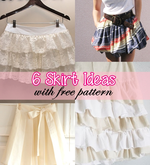 skirt sewing tutorial | diy skirt