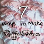 7 Different Styles of Ruffle Pillow Covers