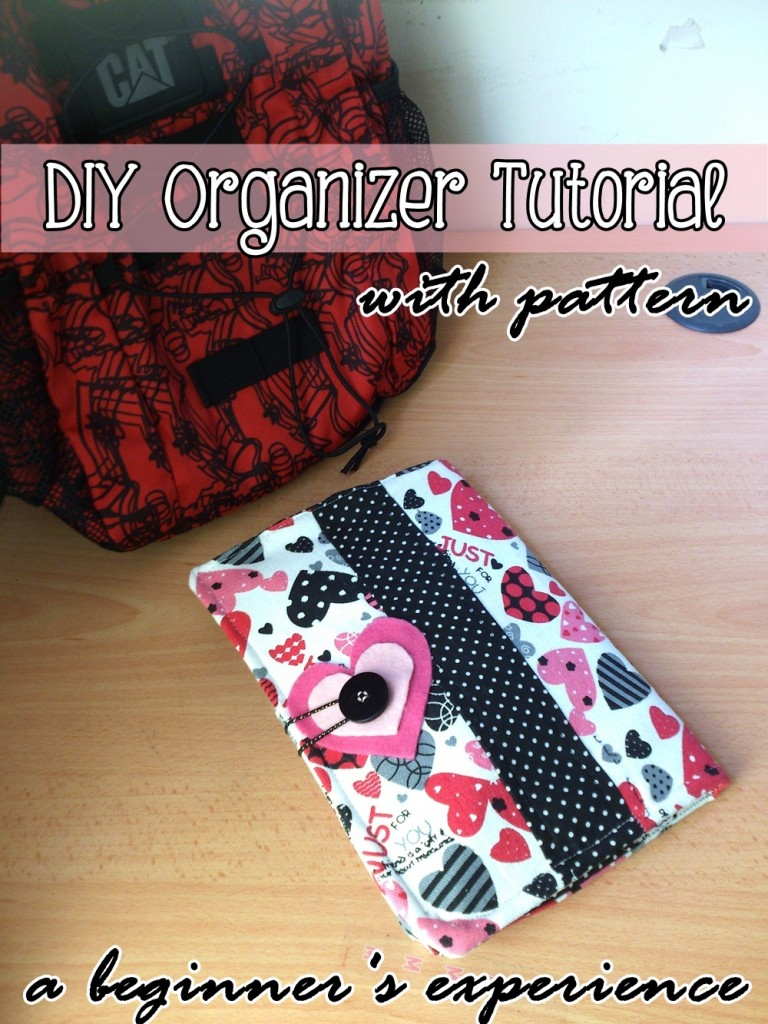 Fabric Organizer Tutorial on believeninspire.com