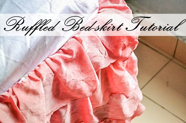 ruffled bed skirt