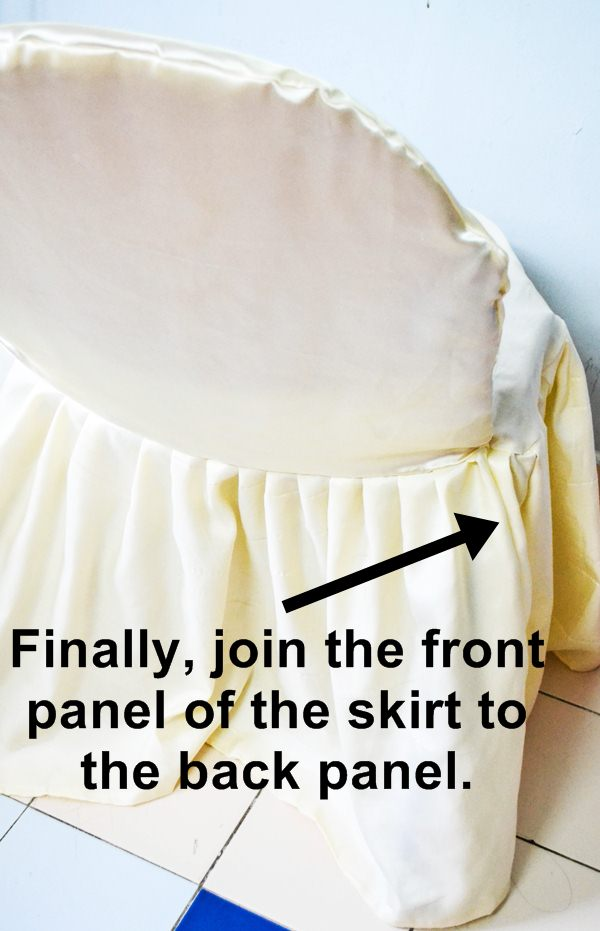 No Sew Banquet Chair Covers Tutorial with FREE Pattern  : DSC09121 from www.sewsomestuff.com size 600 x 931 jpeg 58kB