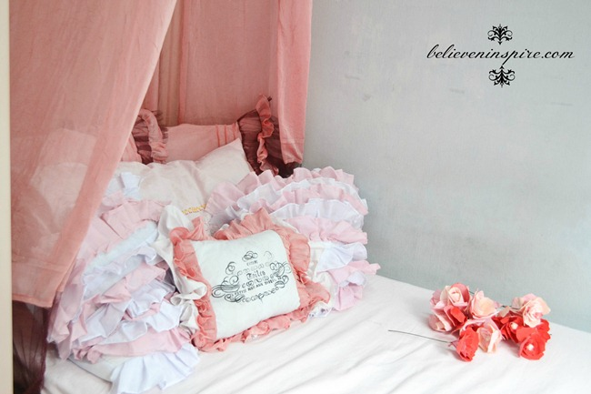 How to Make Super Easy Bed Canopy