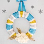 How to – Make a Glittery Winter Wreath