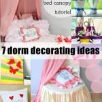 7 Personalized Dorm Decorating Ideas
