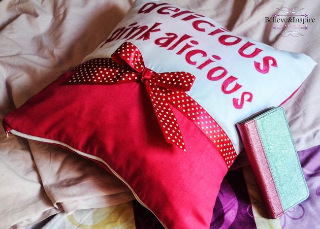 Pinkalicious Pillow Tutorial (Pillow Covers DIY)
