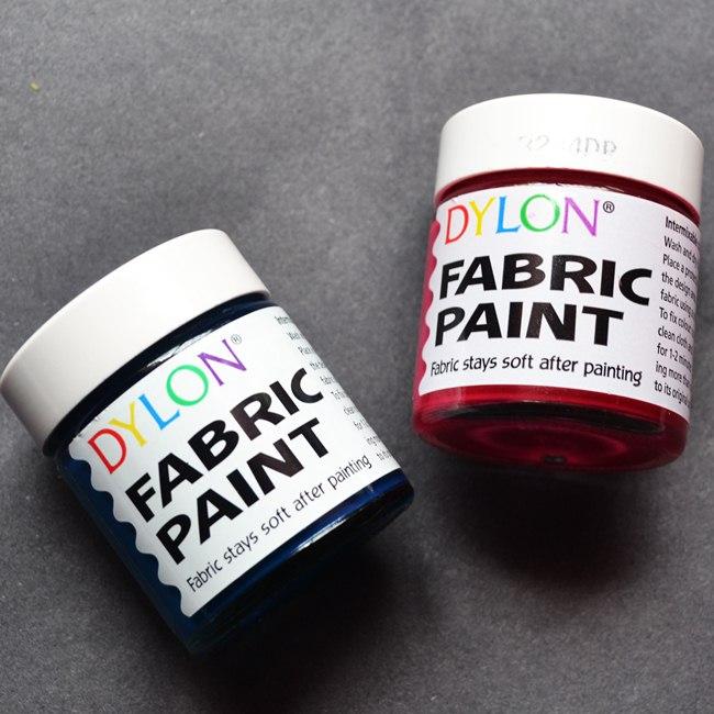 dylon fabric paints