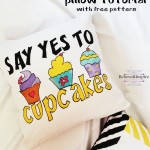 Cup-cake Pillow DIY (Things to sew for kids)