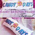 Candy Days Pillow (How to sew decorative pillows)