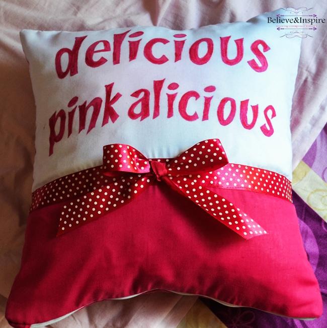Pinkalicious Pillow Tutorial
