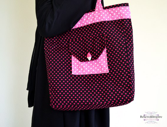 6 Pocket Pro Handbag Tutorial (Free Pattern)