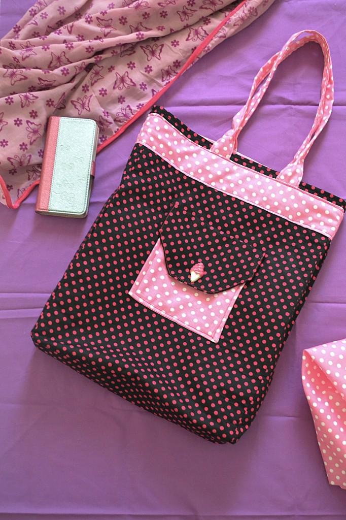 6 Pocket Pro Bag Tutorial FREE PATT