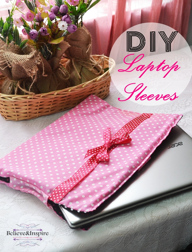 DIY Laptop Sleeves Sewing Tutorial
