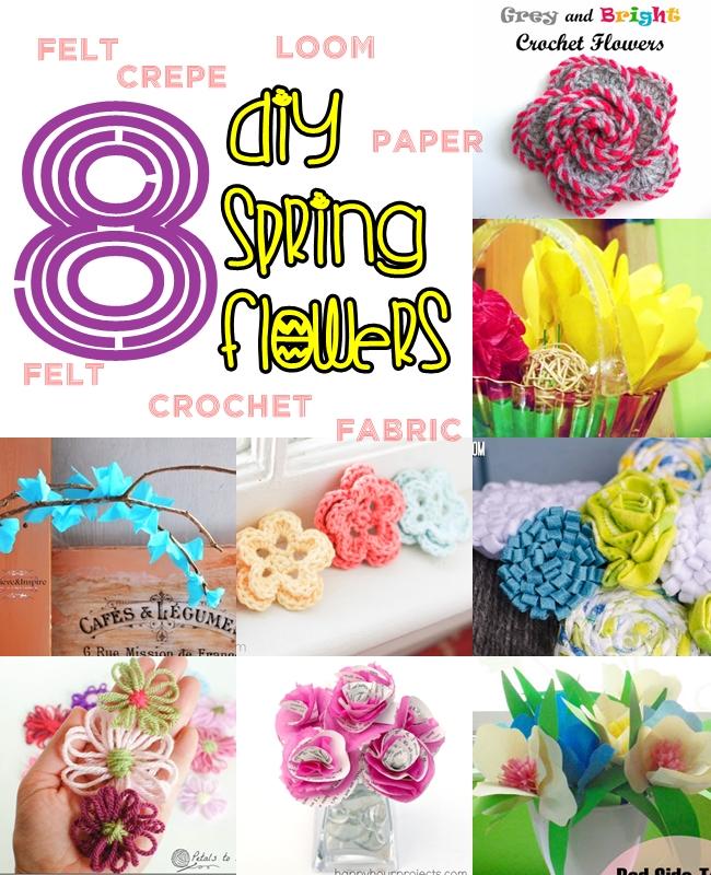 11 diy flowers and some flower arrangements sew some stuff spring flowers mightylinksfo