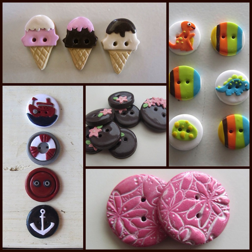 Shop Hand-made Buttons fastenation studio