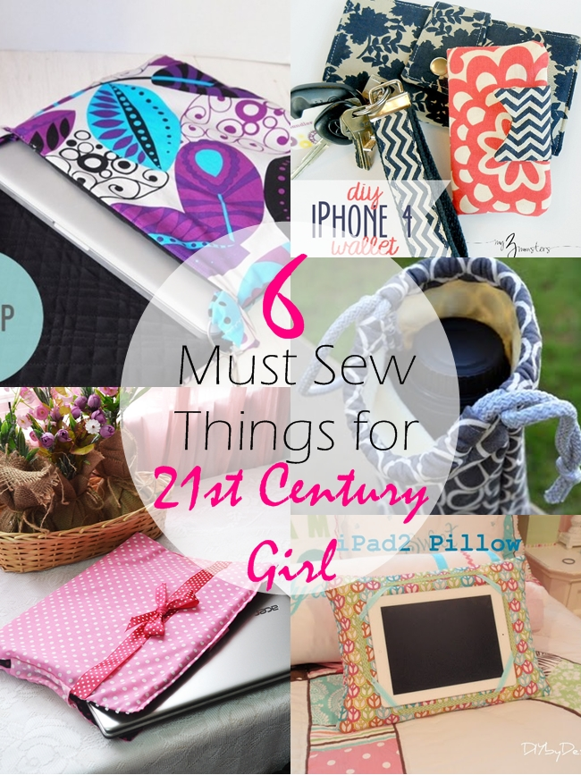6 Must Sew Things for 21st century girl on believeninspire.com