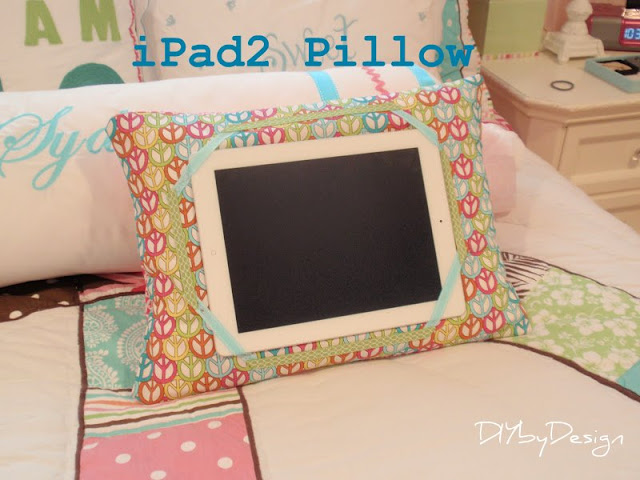 iPad Pillow - 6 Must Sew Things for 21st Century Girl (Free Sewing Patterns)
