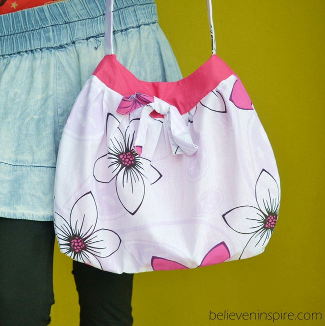 1 hour summer bag with free pattern (custom bags) at believeninspire.com