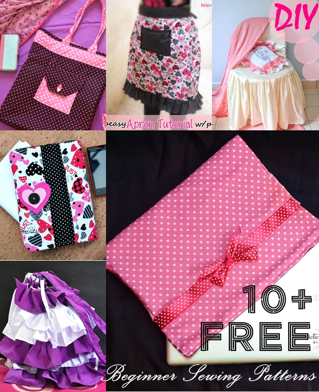Free Sewing Patterns at Sew Some Stuff and Beyond. Looking for FREE SEWING PATTERNS to get you started with the sewing adventure? Here I have listed some great totally free sewing patterns for bags, organizers, laptop cover and aprons that can be found on Sew Some Stuff and other places on the internet. Check them all out now!