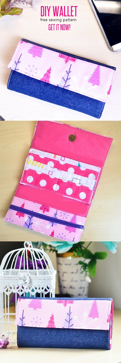 free wallet patterns, wallet pattern, handmade wallet tutorial, DIY wallet, how to sew a wallet, wallet sewing patterns, sew wallet, fabric wallet,