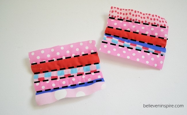 Quilted mini pouch sewing tutorial on Sew Some Stuff9
