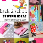 10 Back to School Sewing Ideas with Free Patterns