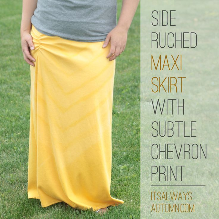 Muslimah Sewing - Maxi Skirts Free Sewing Patterns and Tutorials on believeninspire.com