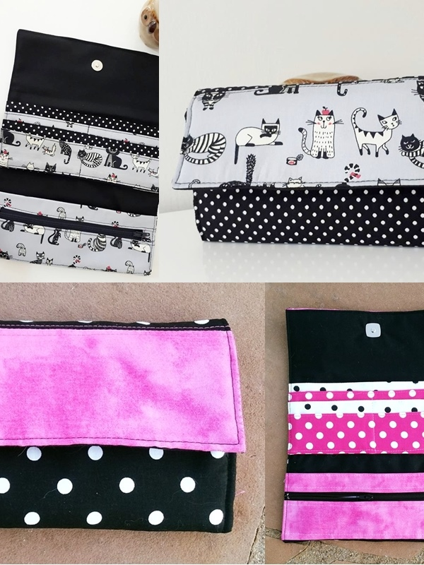 Nappy wallet tutorial and sew we craft.