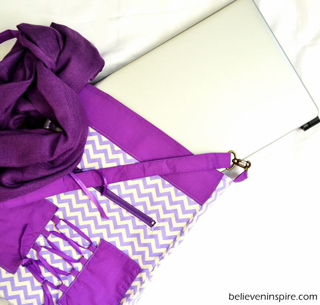 The Perfect College Mate - FREE Bag Pattern (Big Bags) on believeninspire.com