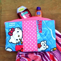 Vera bradley inspired quilted pouch tutorial