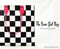 The cover girl bag