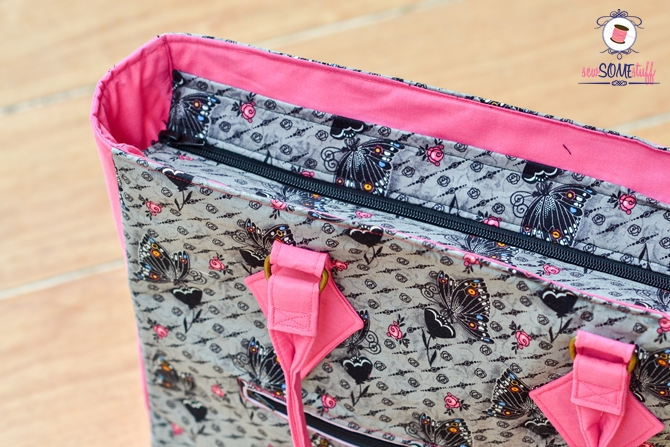 The Cover Girl Bag - FREE BAG SEWING PATTERN PDF
