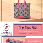 The Cover Girl – FREE BAG SEWING PATTERN