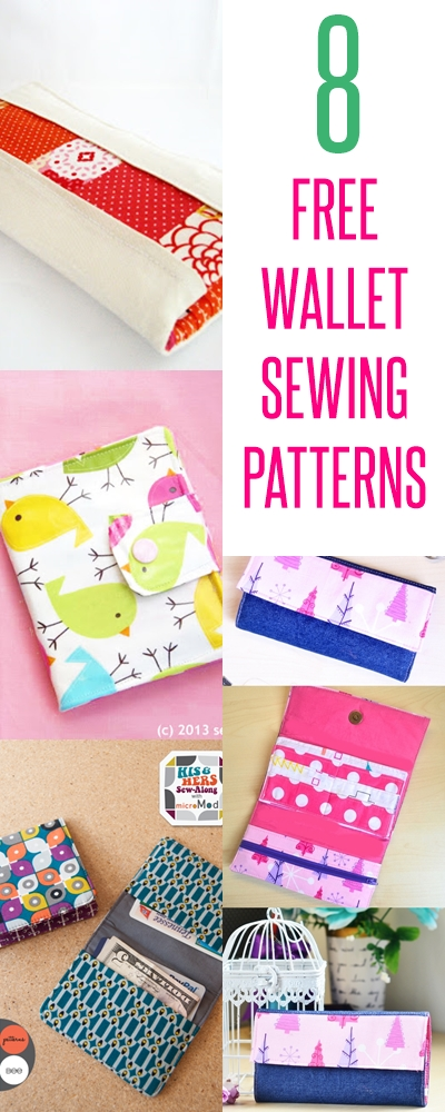 wallet patterns | diy wallet | wallet sewing tutorials
