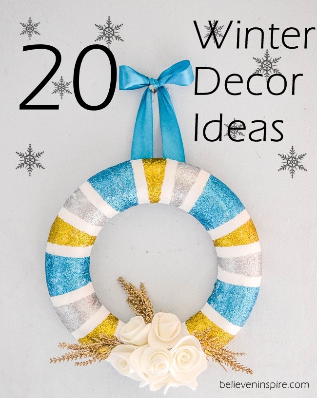 20 decorating ideas for winter