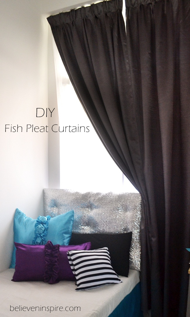 DIY Fish Pleat Curtains (Window Treatments)