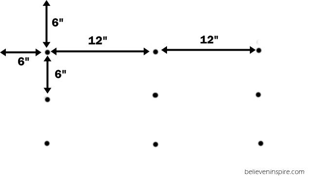 measurement for headboard tufting on believeninspire.com