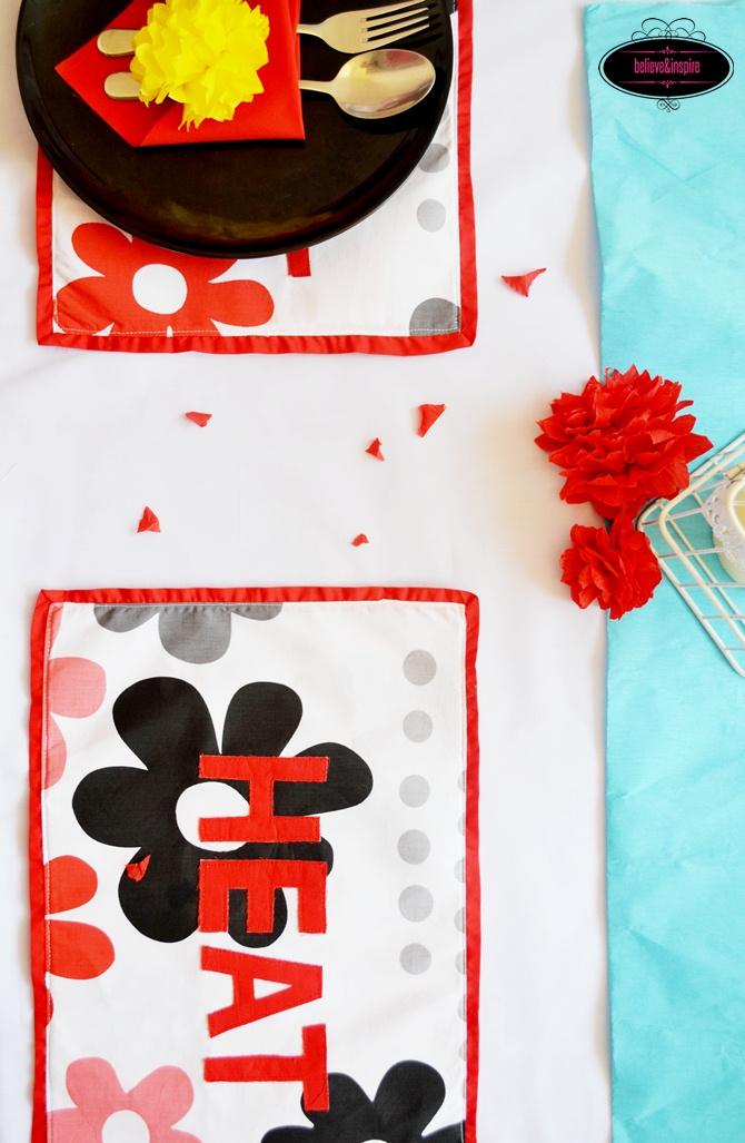 Applique Placemat Tutorial (Table Linens) on believeninspire.com -15