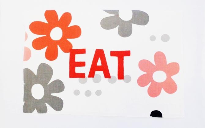 Applique Placemat Tutorial (Table Linens) on believeninspire.com 2
