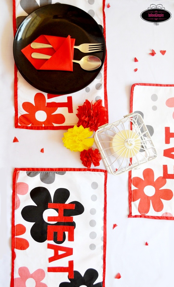 Appliqued Placemat Tutorial