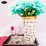 $75 Kate Spade DIY Flower Vase Knock-off Tutorial