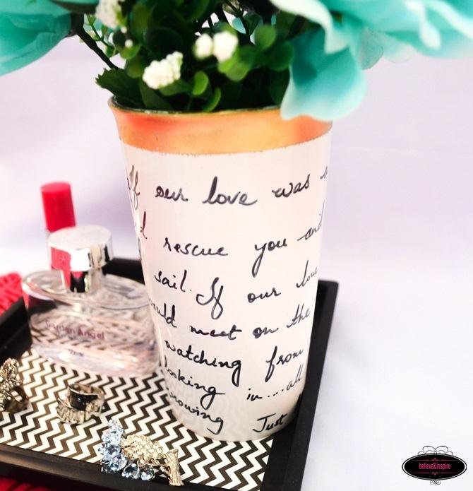75 Kate Spade Diy Flower Vase Knock Off Tutorial