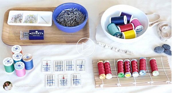 Machine Sewing Needle and Thread Basics
