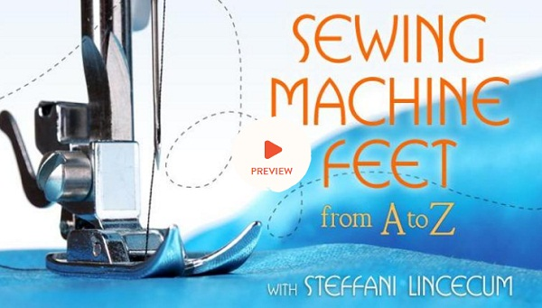 Sewing Machine Feet from A to Z