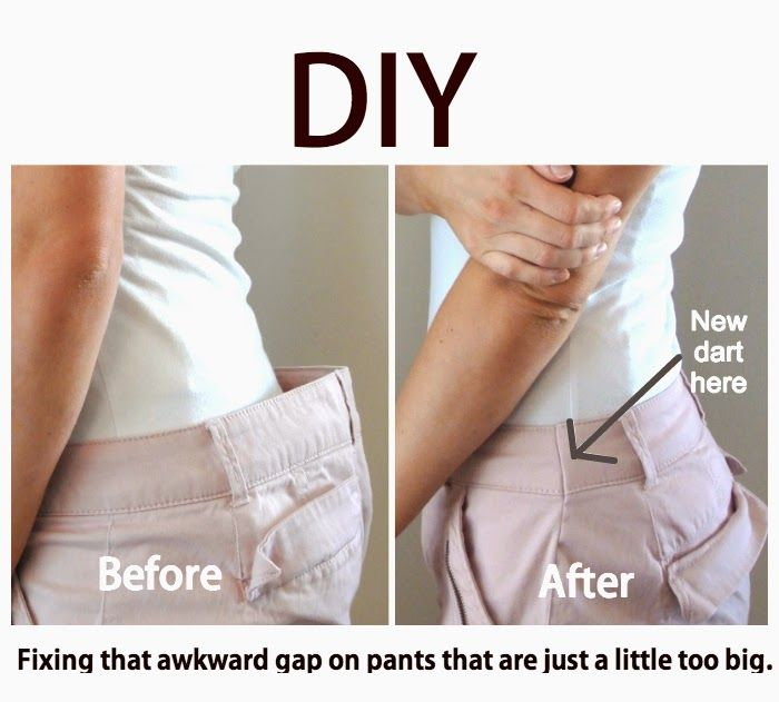 How to Fix the Gap in Pants