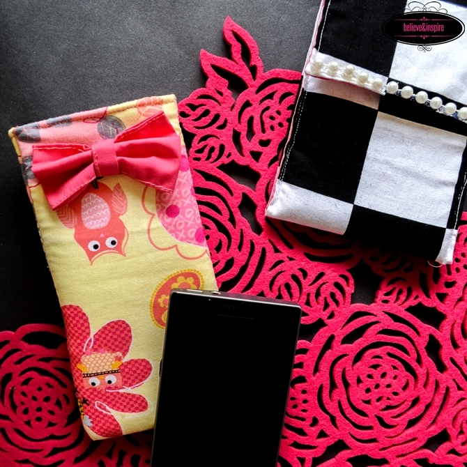 10 minute phone sleeve sewing tutorial on believeninspire.com1