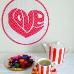 Cute Heart Quilt Pattern – Gorgeous!