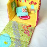 Cute Fabric Doll house Tutorial