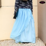 Enchanted Layered Chiffon Maxi Skirt Tutorial