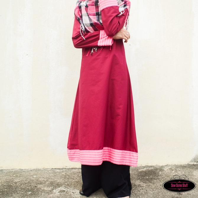 Modest Maxi DressAbaya Sewing Tutorial