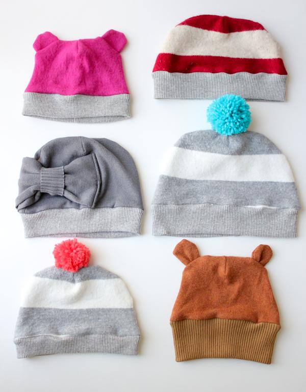 Winter hat sewing tutorial